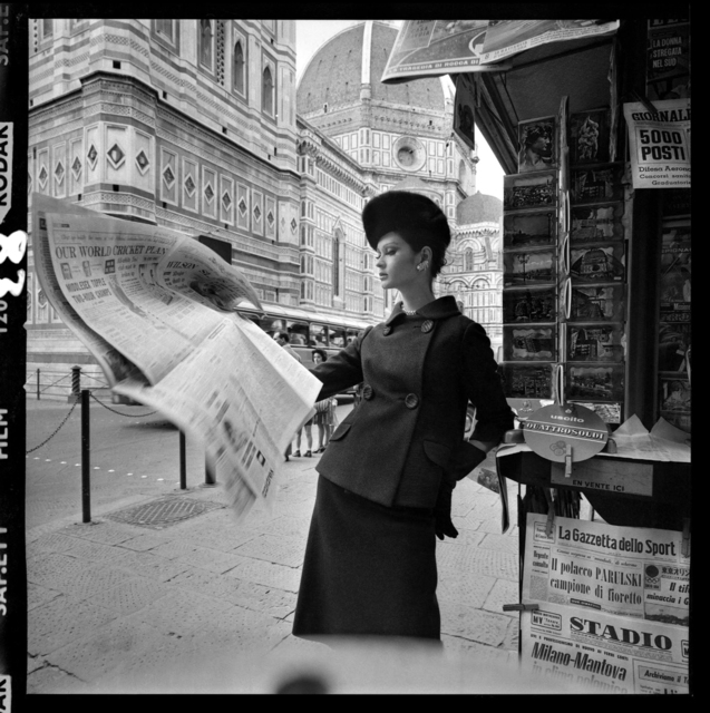 , 'Newspaper Stand, Florence,' 1961, Holden Luntz Gallery