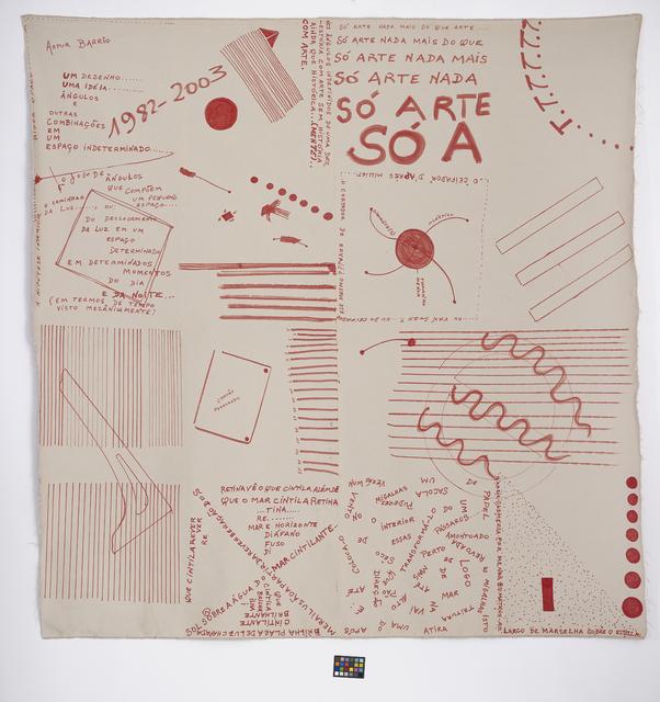 , 'Untitled,' 1982, Quadrado Azul