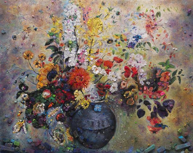 , 'Metachrome: Flowers, after Redon II,' 2016, Galeria Nara Roesler
