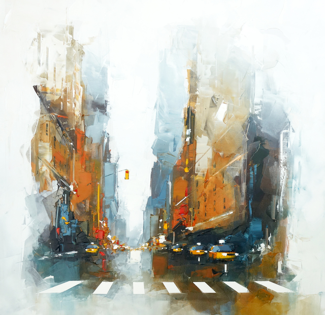 , 'Taxis NYC,' 2017-2018, art&emotion Fine Art Gallery
