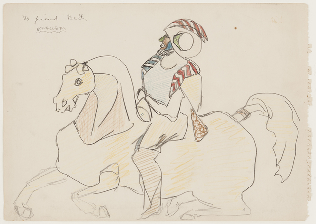 , 'Horse and Rider,' ca. 1945, Hollis Taggart Galleries