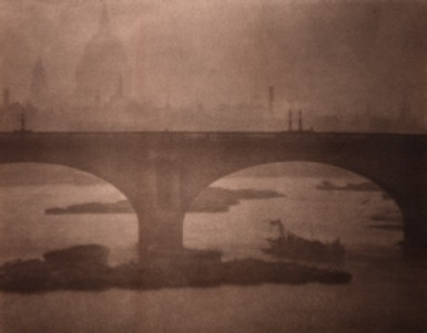 , 'Waterloo Bridge from London Bridge,' 1903, °CLAIR Galerie