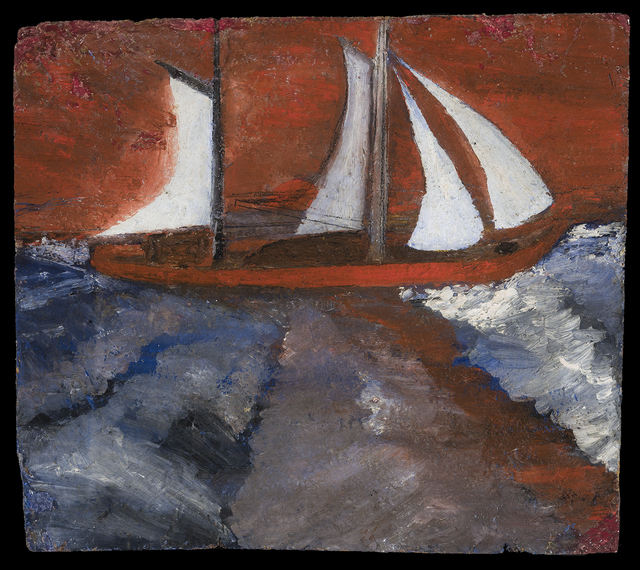 , 'Sailboat and Hurricane Sky,' unknown, Hirschl & Adler