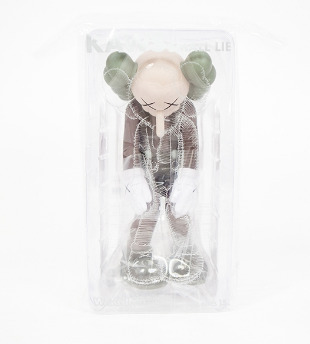KAWS, 'Small Lie (Complete Set Of Three)', 2017, Sculpture, Vinyl and Paint, Lougher Contemporary