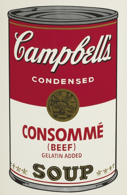 Andy Warhol, 'Consommé (Beef) (F. & S. II.52)', 1968, Sotheby's
