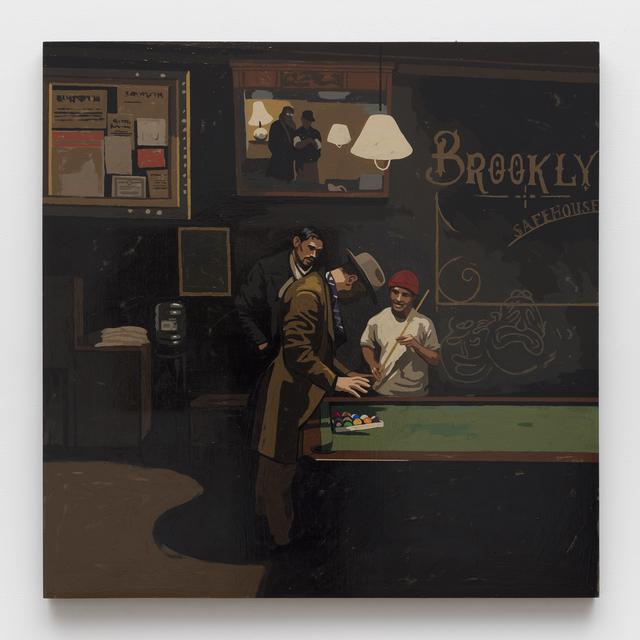 , 'Pool Sharks at the Safehouse,' 2019, Alexander and Bonin