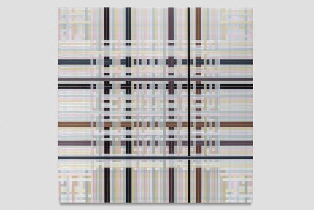 , 'Untitled (Pastel Interwoven, 8640 Strands),' 2018, PRAZ-DELAVALLADE