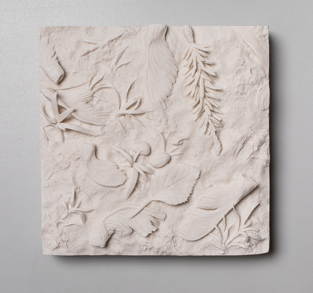 , 'Patch of Ground, Maple Seeds,' 2019, Mindy Solomon Gallery