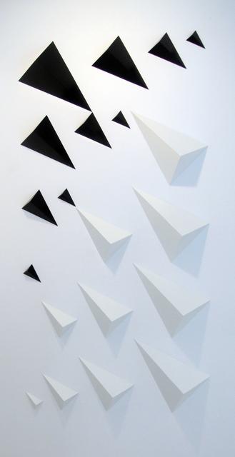 David Bill, 'bestehend aus 20 einzelnen elementen s/w', 2009, Galerie Denise René