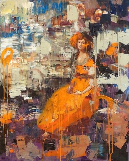 Rimi Yang, 'Lady in Orange Dress', 2010, Galerie Sono