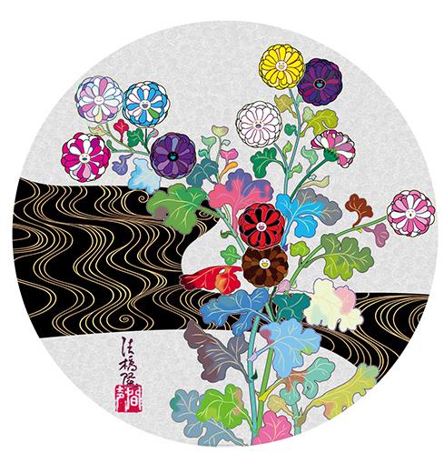 Takashi Murakami, 'Korin: Tranquility', 2020, Print, Offset print, Vogtle Contemporary