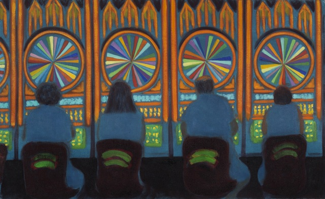 , 'Wheel of Fortune,' 2012, James Fuentes