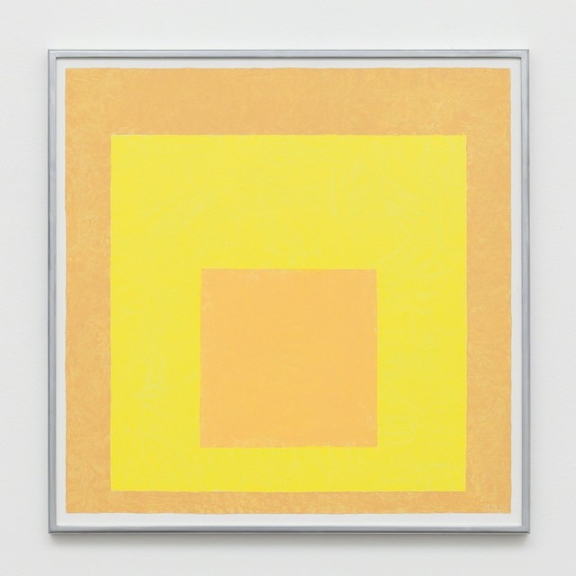 , 'Study for Homage to the Square Equilibrant, 1962, After Josef Albers,' 2014, Labor
