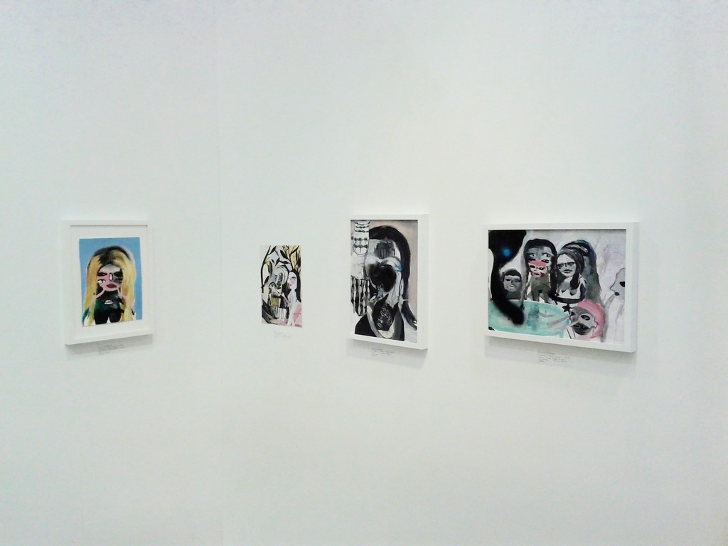 Silvia Argiolas works on paper - installation view