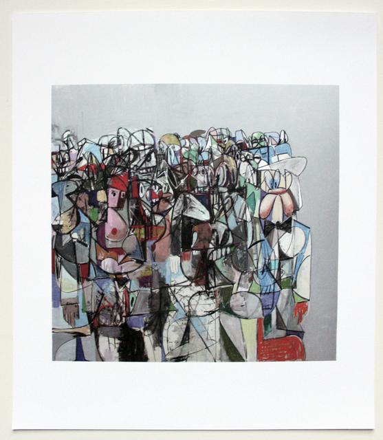 George Condo, 'Plate 10 Compression I', 2011, EHC Fine Art
