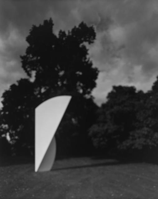 Hiroshi Sugimoto, 'Past Presence 074, White Curves, Ellsworth Kelly', 2016, Marian Goodman Gallery