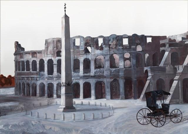 , 'Panorama of Rome 2012,' 2012, Gagosian