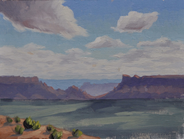 , 'Valley Clouds,' 206, Abend Gallery