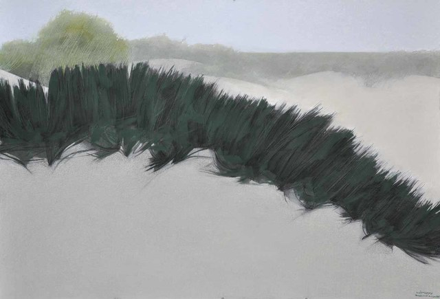 , 'Desert 3,' 2014, Hafez Gallery