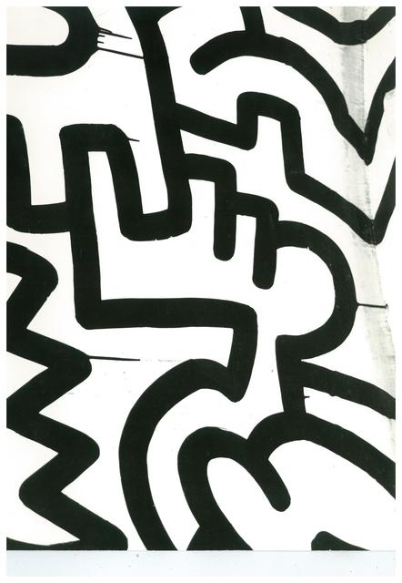 , 'Keith Haring Painting Detail (Pop Shop),' ca. 1983, The Future Perfect