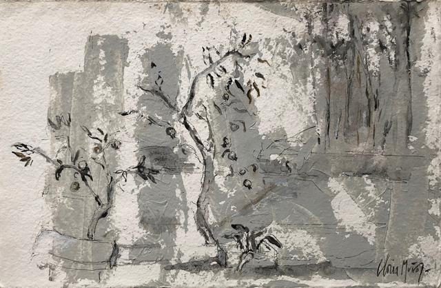 , 'Jardín de Ofelia, Magnolias ,' 2018, Sala Parés