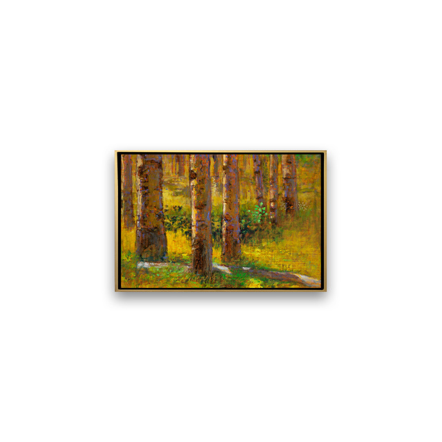 , 'ASPENS ON THE HILL,' , Exhibit by Aberson