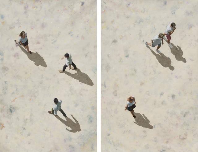 , 'Place Igor Stravinsky,' 2019, Caldwell Snyder Gallery