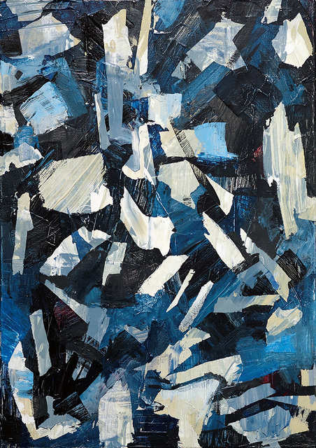 , 'Abstract No. 13,' 2018, GRAFO Gallery