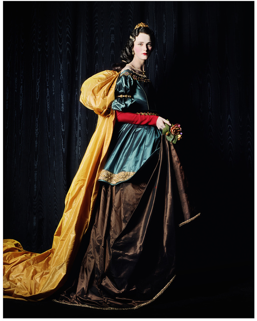 , 'Carmen as Zurbarán's Saint Elizabeth,' 2000, Museo Thyssen-Bornemisza