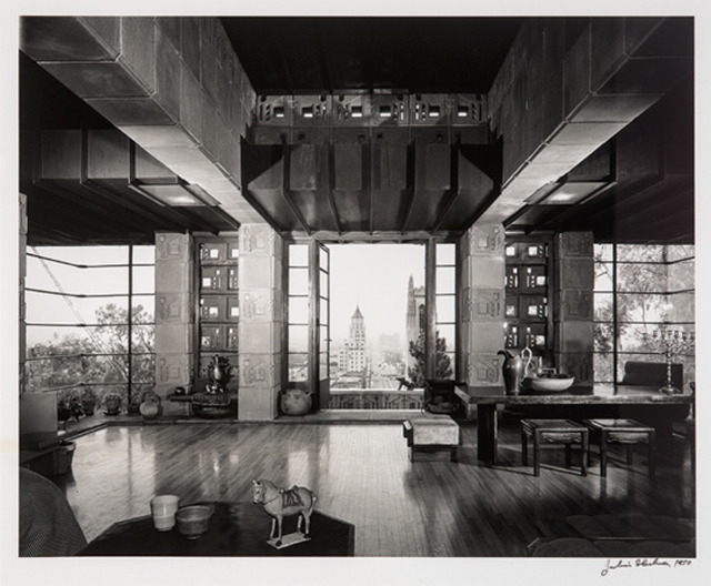 Julius Shulman, 'Freeman House, Frank Lloyd Wright', 1953, On The Wall