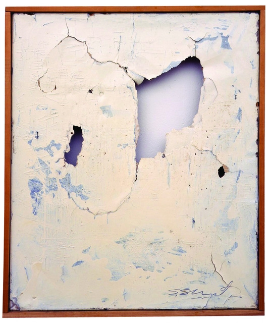 Shozo Shimamoto, 'Untitled,' 1950, Rachofsky Private Collection