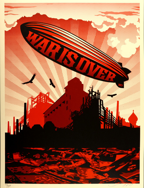 Shepard Fairey (OBEY), 'War Is Over', 2007, Chiswick Auctions