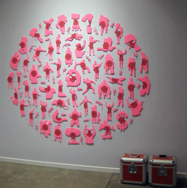 , 'La vie en rose,' 2012, Mario Mauroner Contemporary Art Salzburg-Vienna