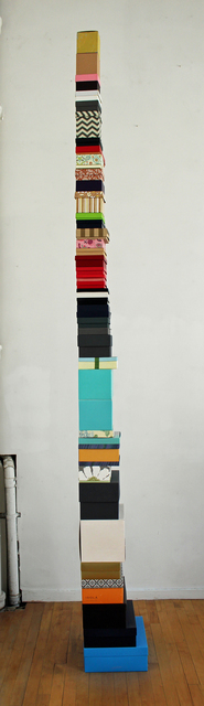 , 'Tower of Boxes,' 2015, Kathryn Markel Fine Arts