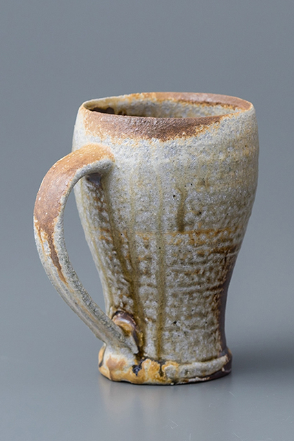 , 'Beer mug, yohen natural ash glaze,' 2018, Pucker Gallery
