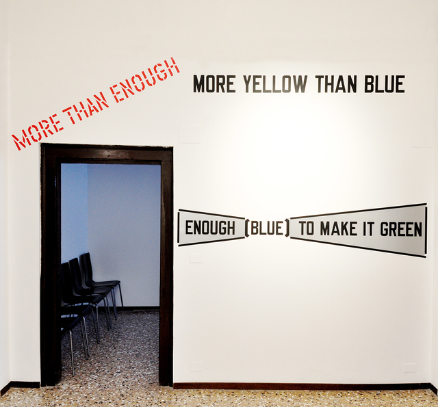 , 'MORE THAN ENOUGH,' 2011, ECC Collection