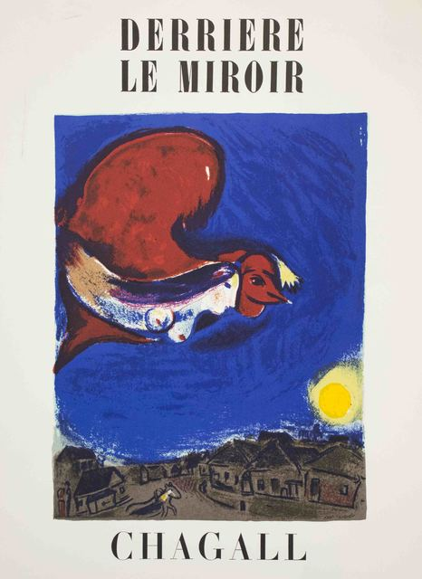 Marc Chagall, 'Derriere le Miroir No. 27-28 (The Village by Night)', 1950, The Munn Collection