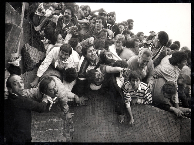 , 'Heysel Stadium Disaster,' 1985, Brooklyn Museum