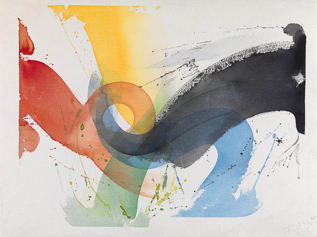 William Tillyer, 'The Age of Anxiety / The Kerry Sunset Watercolours', 2001, Bernard Jacobson Gallery