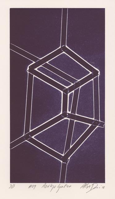 , 'Azulejo grafico #09,' 2018, Buchmann Galerie Lugano