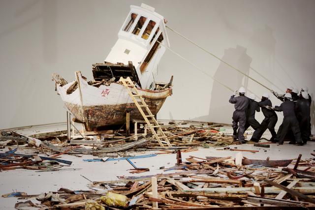 """, '""""Ordem e Progresso"""",' 2017, Luciana Brito Galeria"""