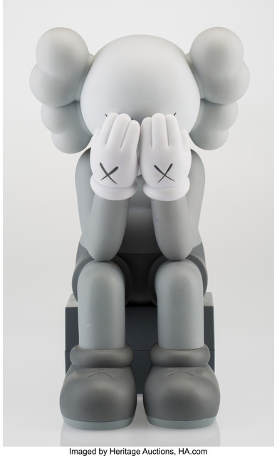KAWS, 'Companion-Passing Through (Grey)', 2013, Heritage Auctions