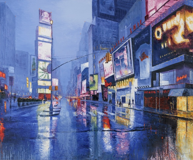 , 'NYC Rain,' 2017, Art Preview