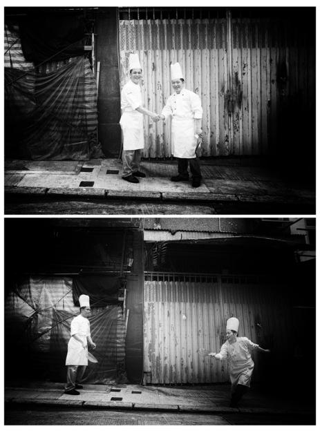 , '(People's Chefs) - Mak Kwai Pui & Leung Fai Keung,' 2011, Art Beatus