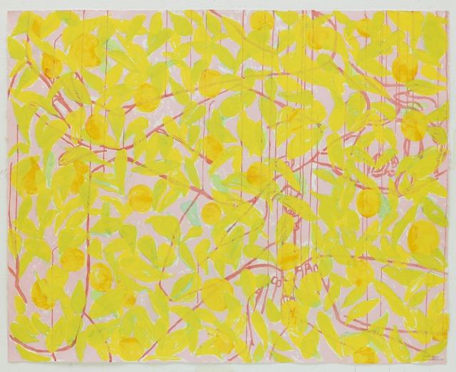 Ghada Amer & Reza Farkhondeh, 'Sleeping with Orange Tree Branches #2,' 2008, STPI