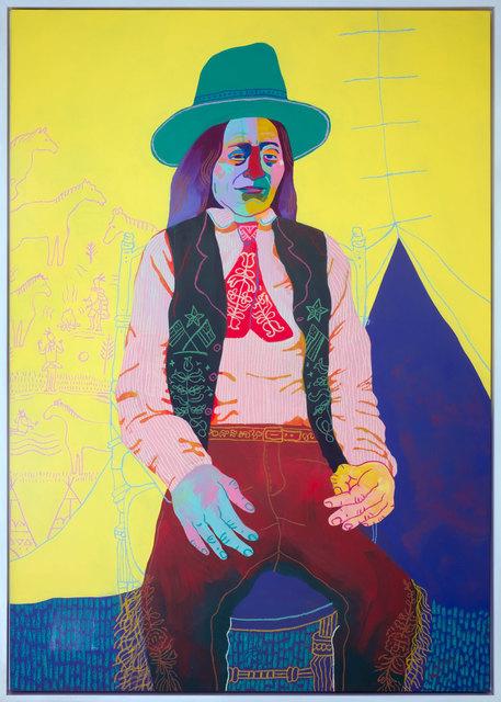 , 'Sitting Chief 1900,' 2017, Rebecca Hossack Art Gallery