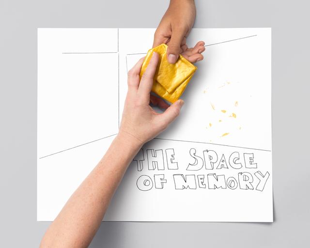 , 'THE SPACE OF MEMORY (hands),' 2015-2016, galerie antoine ertaskiran