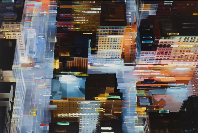 , 'Floating Metropolis,' 2014, Gallery Henoch