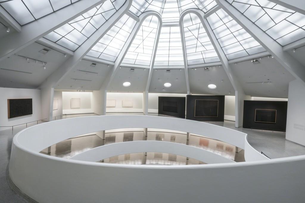 Alberto Burri: The Trauma of Painting, October 9, 2015–January 6, 2016, Solomon R. Guggenheim Museum. Photo: David Heald © Solomon R. Guggenheim Foundation
