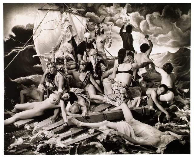 , 'The Raft of Georges W Bush,' 2006, Michel Soskine Inc.